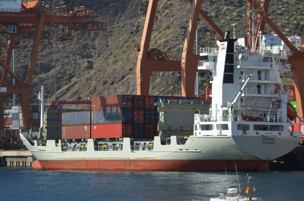 De contenedores parti ahora mismo el gerda - Contenedores de barco ...